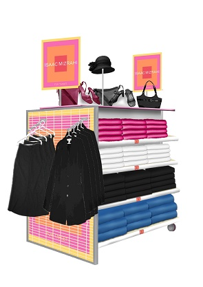 Nationwide, Target, Isaac Mizrahl, Apparel, Brand Dept, apparel display