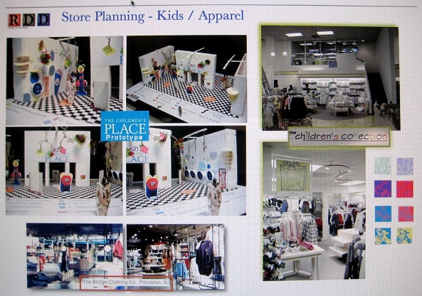 Arlington VA, The Childrens Place, Concept shop for children, children interactive dept, children prototype store