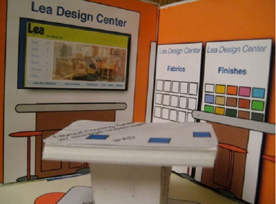 NY, NJ, Crib & Teen City, Lea Furniture, Furniture Display, Furniture Store Graphics