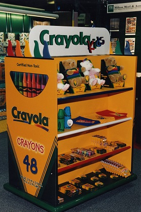 Easton, PA, Crayola, children store, children display, infant toddler store, children display