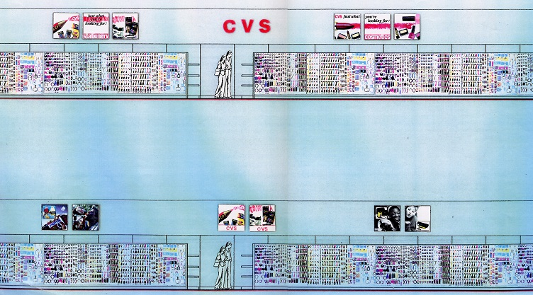 Nationwide, CVS, Drug Store, Drug Display, Drug Store Graphics